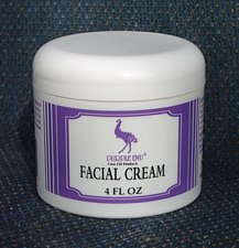 facial cream softener made with all natural american emu oil